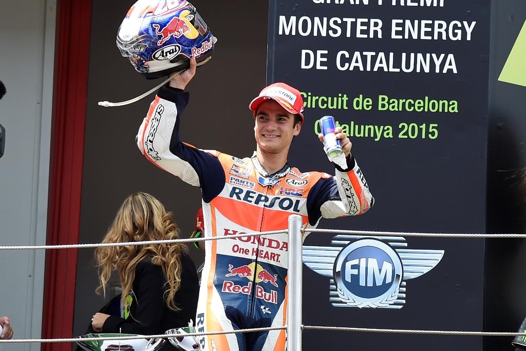 MotoGP 2015, Barcellona, Dani Pedrosa, una grande gara per lo spagnolo