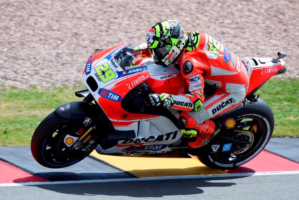MotoGP test Misano, luglio 2015, Andrea Iannone