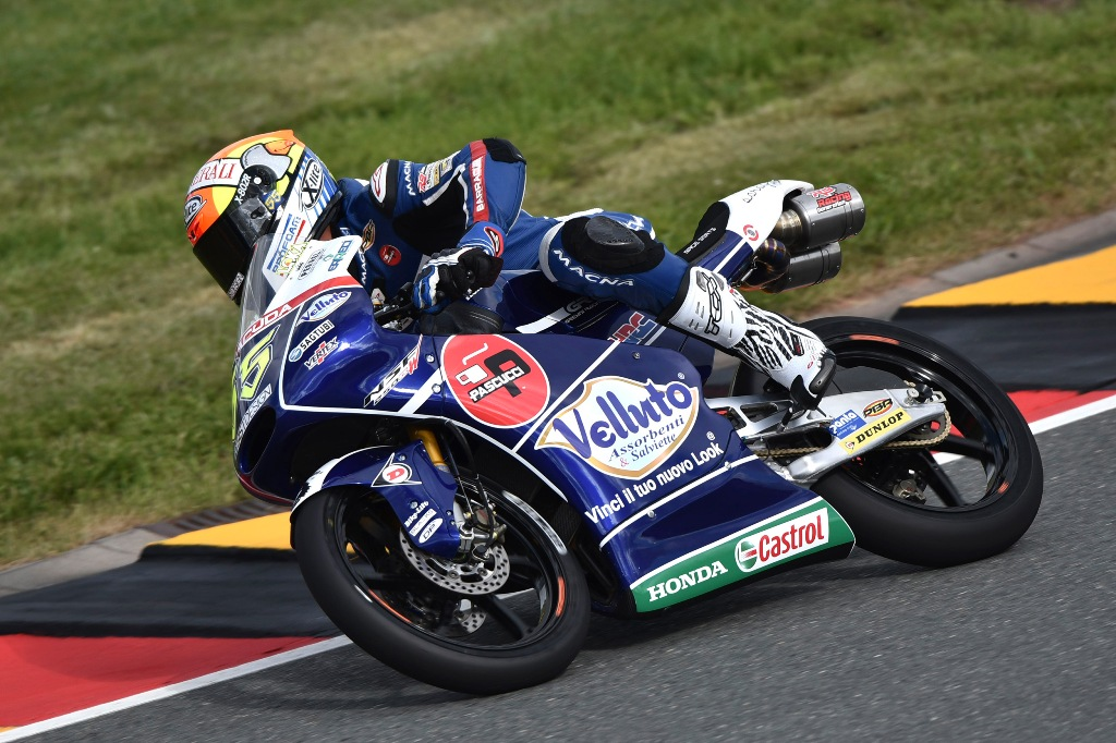 La moto del Team Gresini con la nuova grafica Castrol