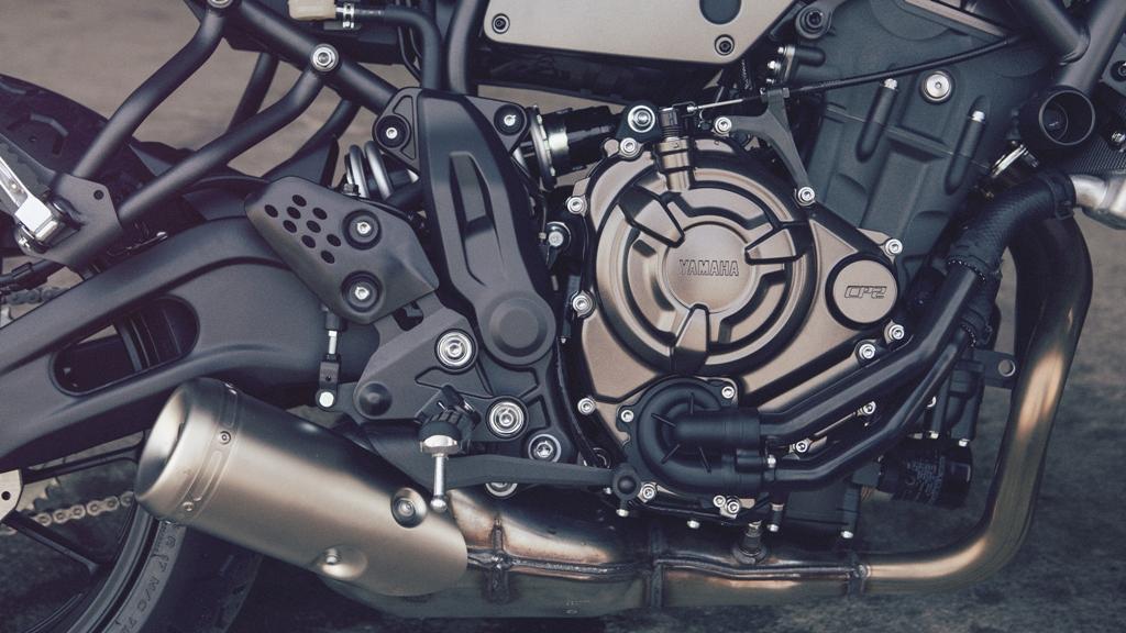 Yamaha, il bicilindrico da 689 cc della XSR700