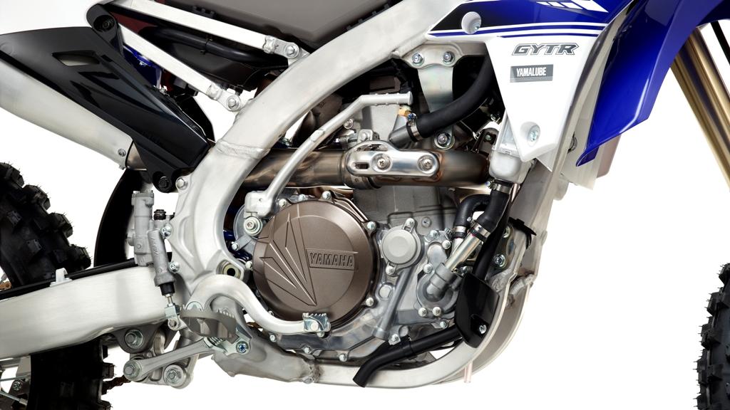 MX 2016 Yamaha, particolare del telaio