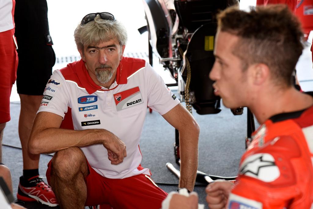 MotoGP test Misano Ducati Team, Andrea Dovizioso