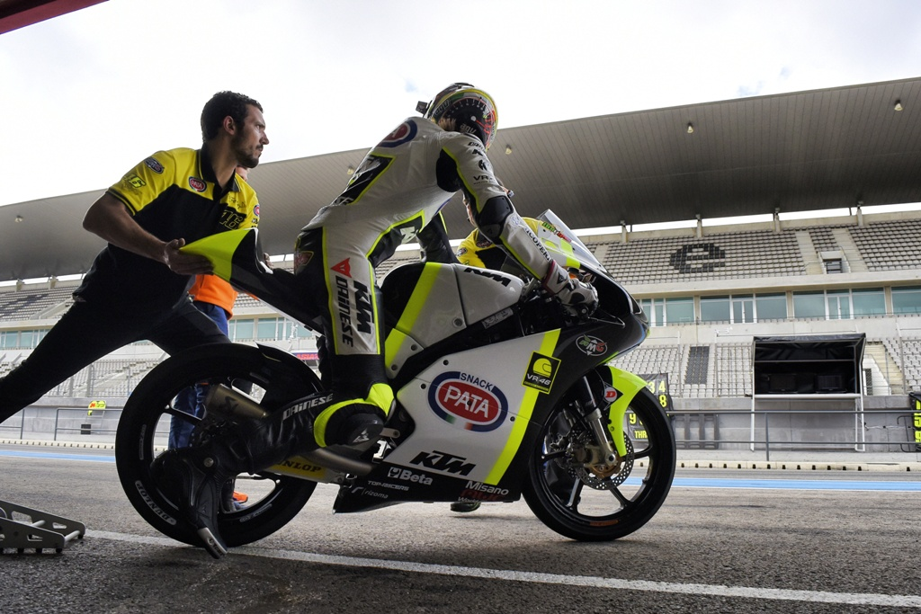 Junior Team VR46, Bulega al box