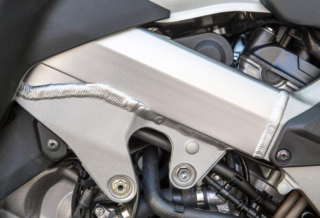 Honda Crossruner 2015, il telaio doppio trave