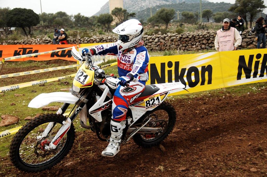 Enduro, Andrea Giubettini nel 2010