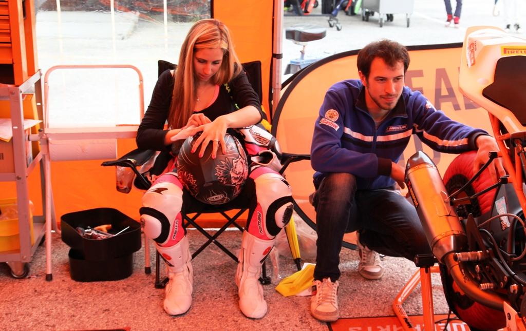 CIV 2015, SP. Trofeo KTM, Greta Fontana, terza in gara ad Imola