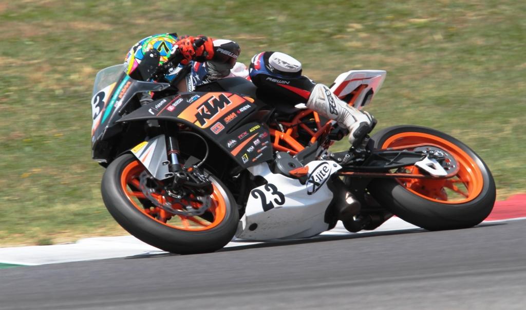 CIV 2015, SP, Trofeo KTM, Arioni in gara al Mugello