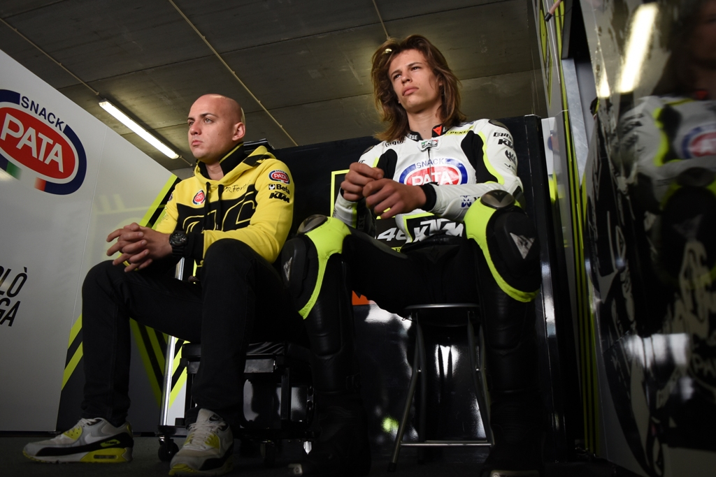 Junior Team VR46, Luca Brivio e Nicolo' Bulega