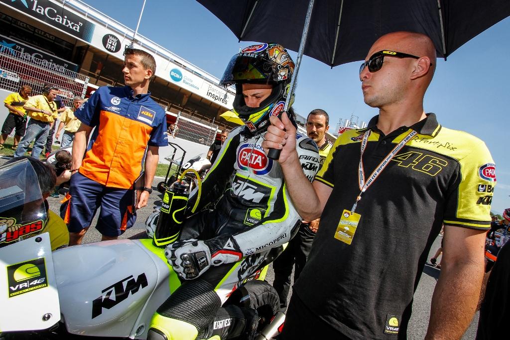 Luca Brivio e Nicolò Bulega sulla griglia di partenza