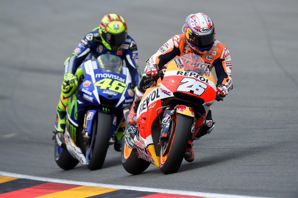 MotoGP 2015, Pedrosa e Rossi, alla fine l'ha spuntata lo spagnolo...