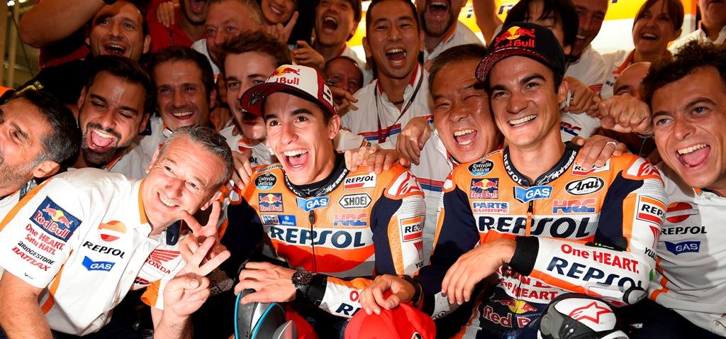 MotoGP 2015, Marquez e Pedrosa