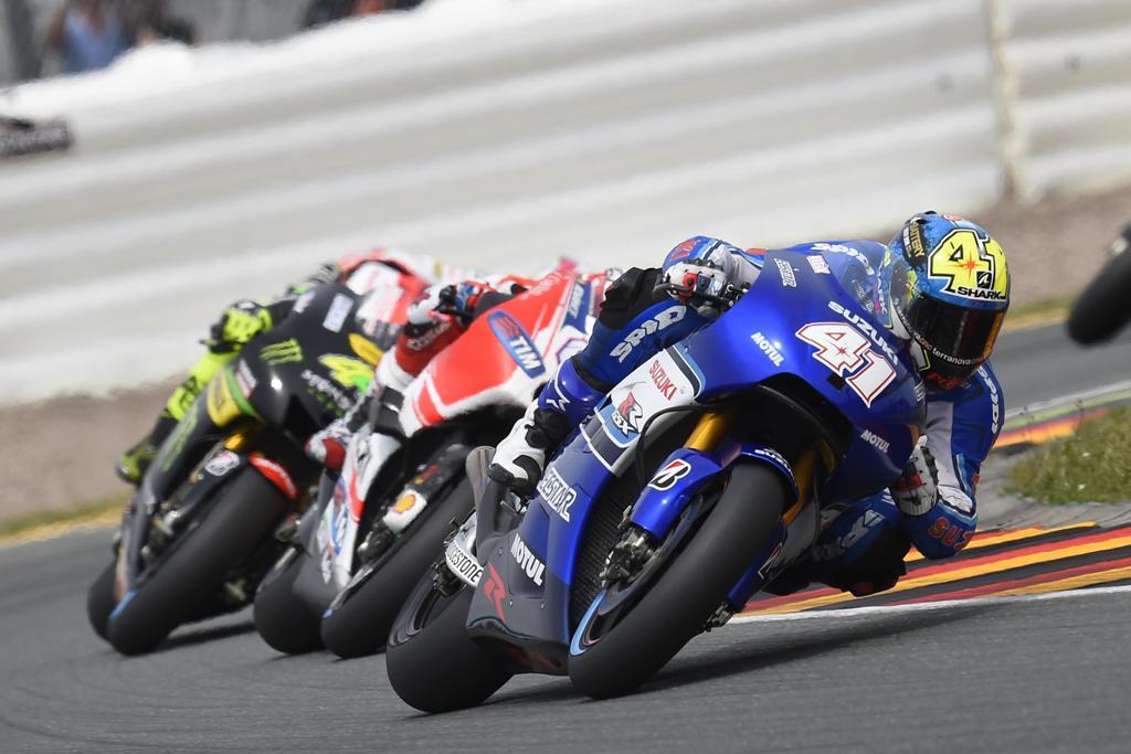 MotoGP 2015, Suzuki, Aleix Espargaro decimo in Germania