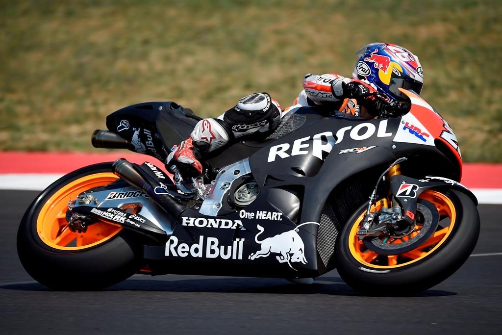 MotoGP test Misano, test prototipo 2016 Honda
