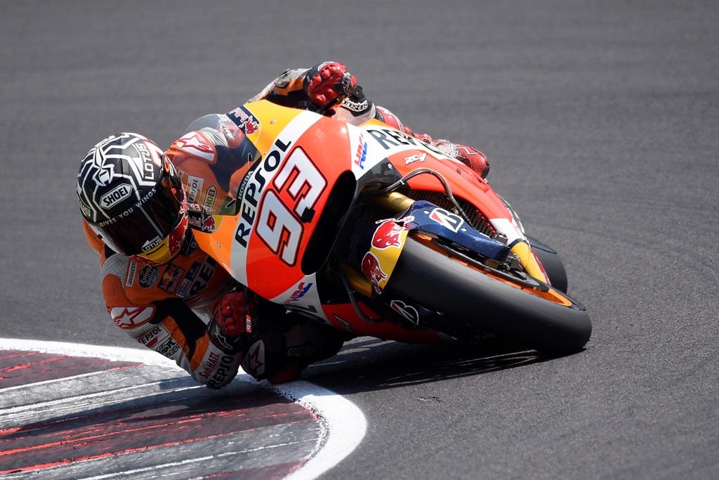MotoGP test Misano luglio 2015, Marc Marquez