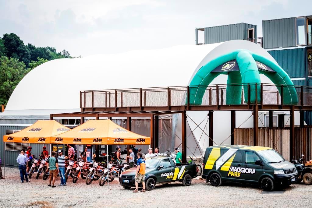 Maggiora Bike Park KTM con le Freeride E