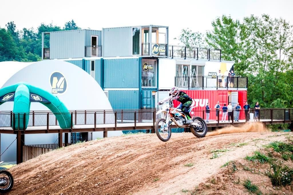 Il Bike Park di Maggiora, un modo nuovo di praticare l'offroad E