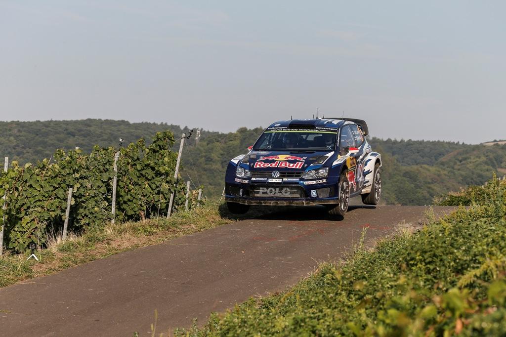 WRC 2015, Germania, Larvala e la sua Polo R WRC
