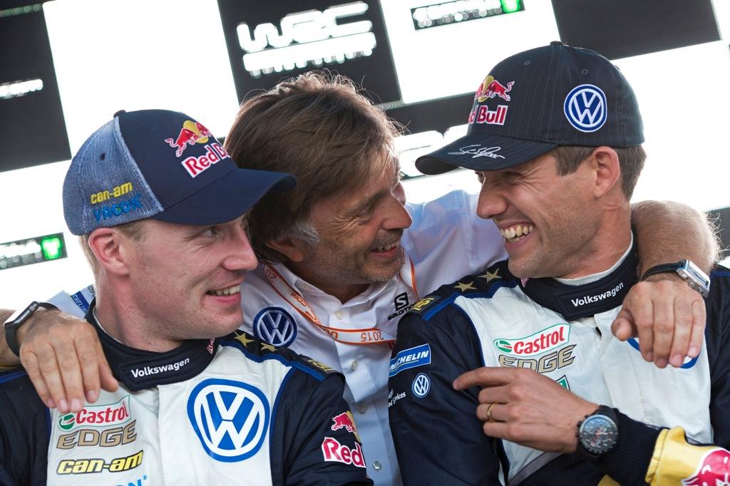 WRC 2015, Germania, Capito. Latvala e Ogier