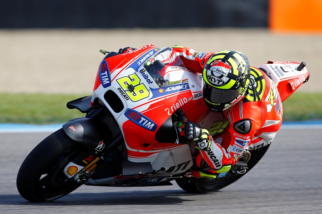 Andrea Iannone, ancora una bella gara per lui e la GP15