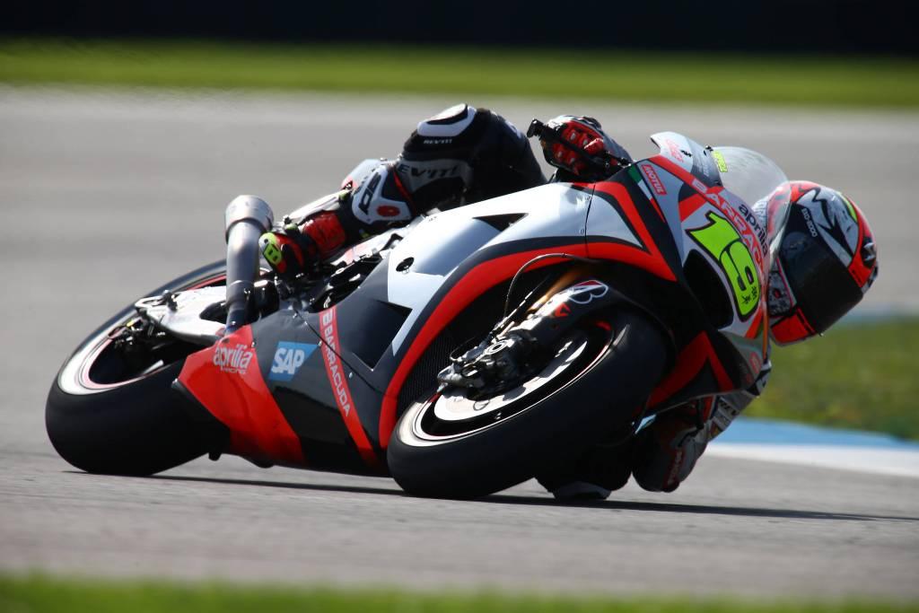 Alvaro Bautista, Aprilia ancora in crescita con la RS-GP