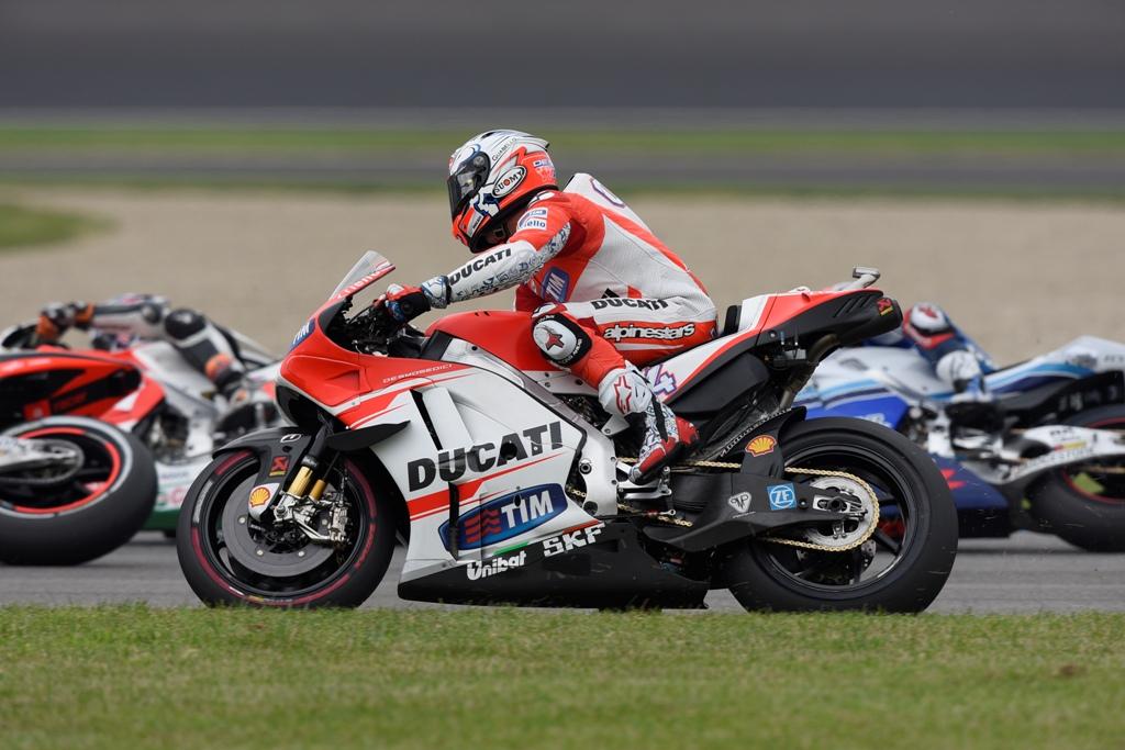 MotoGP 2015, Indy, Andrea Dovizioso, un'altra gara no per lui