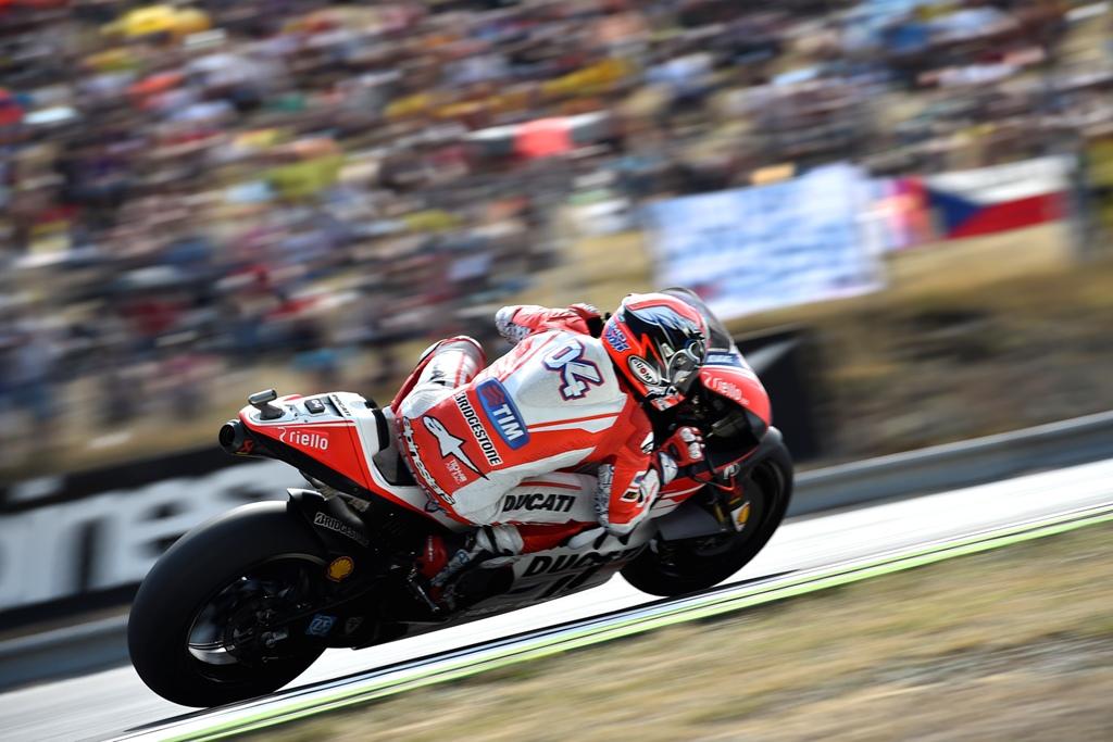 Andrea Dovizioso a Brno
