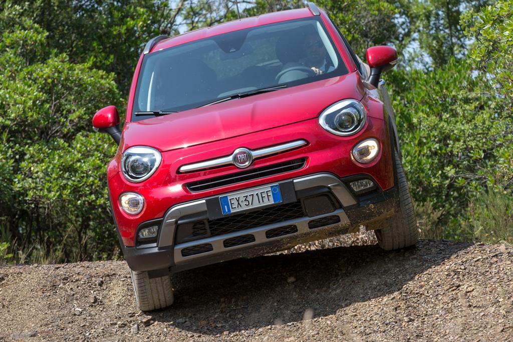 Fiat 500X AWD, le ruote indipendenti aiutano nell'offroad più estremo
