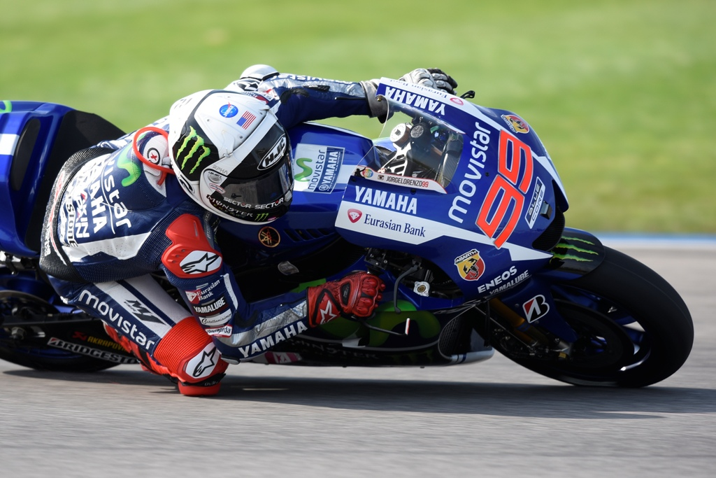 Jorge Lorenzo come sempre tagliente e preciso ma a Indy l'ha spuntata Marquez