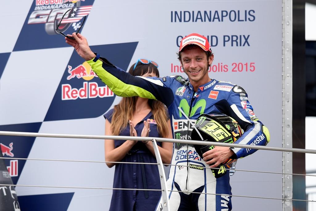 MotoGP 2015, Indy, Rossi terzo ma ora è  a 9 punti da Lorenzo