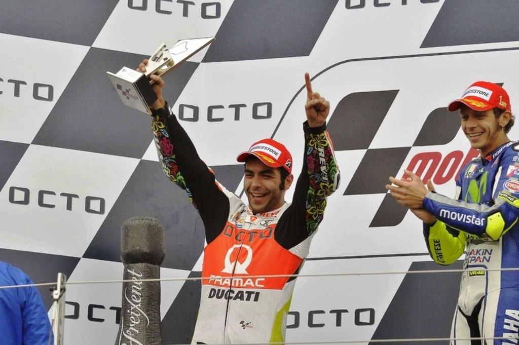 MotoGP Silversone Petrucci sul podio, gara stratosferica per lui