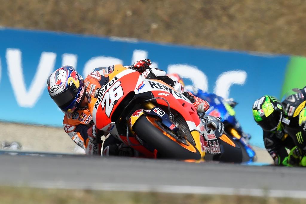 Dani Pedrosa ha raccolto un 5° posto a Brno dopo un contatto con Hernandez