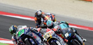 Moto3 Misano 2015, Enea Bastianini in gara