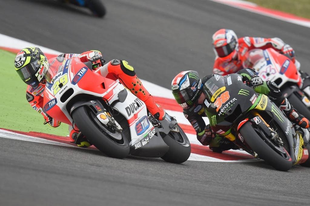 MotoGP 2015, aragon, Andrea Iannone in gara