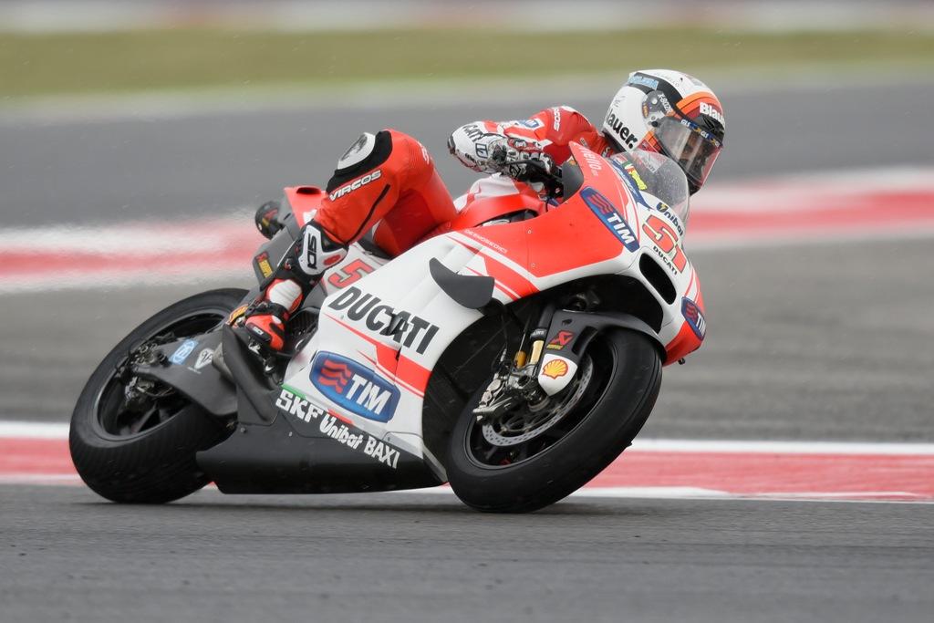 MotoGP 2015, Misano, gara sfortunata per Michele Pirro
