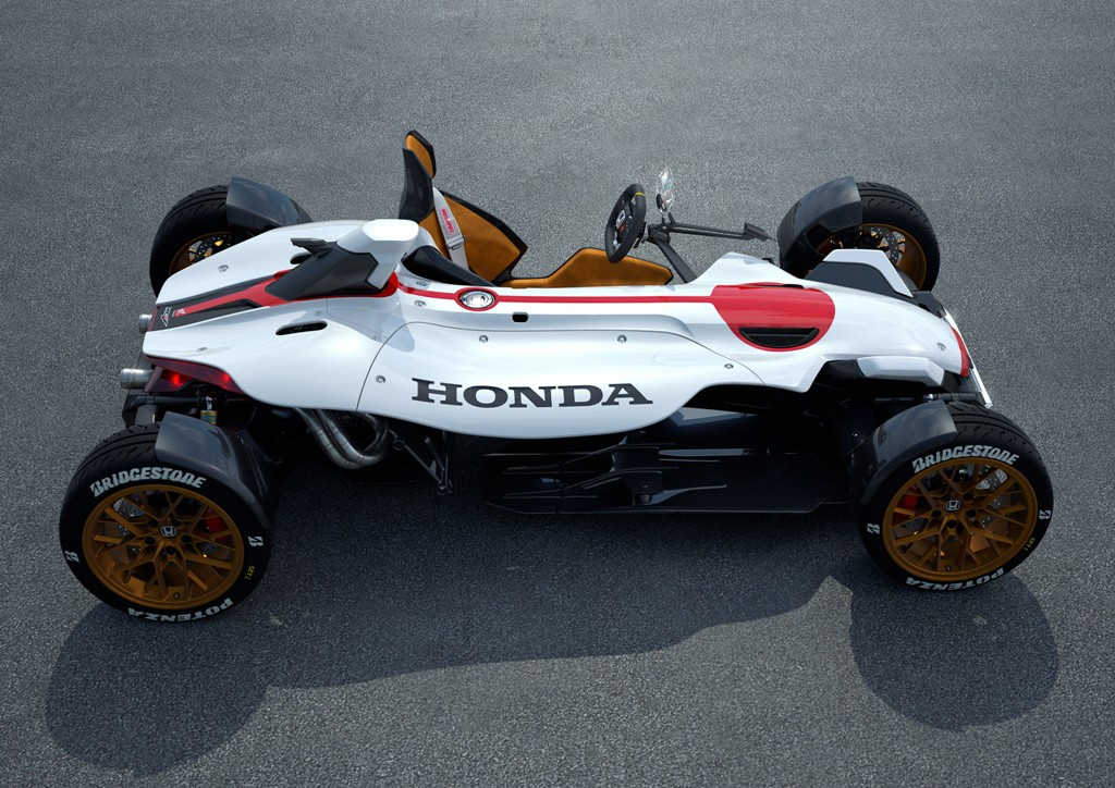 Salone di Francoforte la 'Honda Project 2&4'