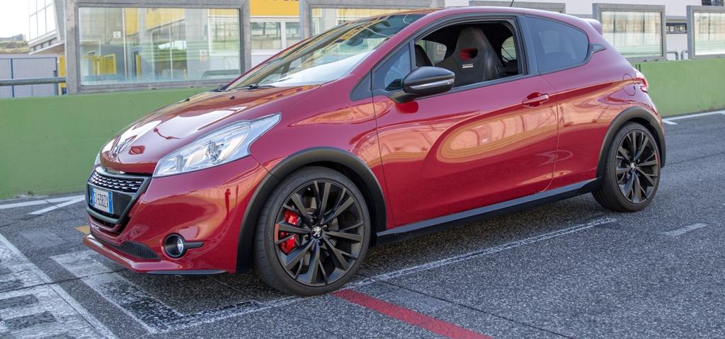 Peugeot 208 GTi 30th, il nostro test un po' particolare