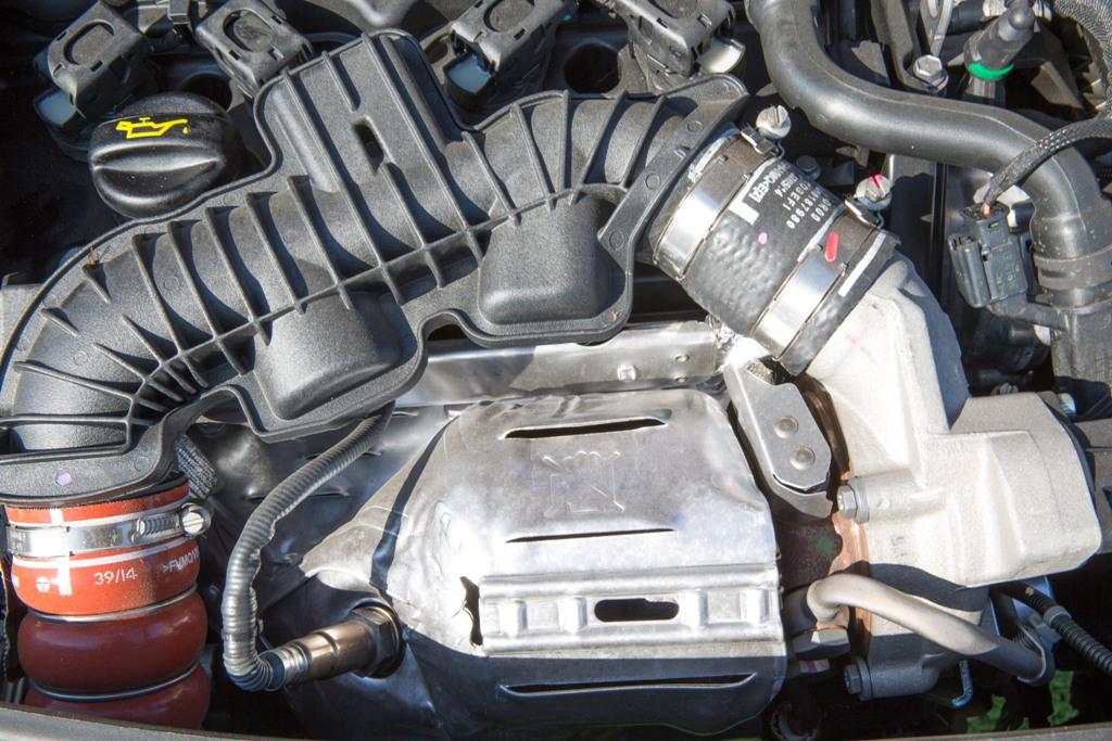 208 GTi 30th, la turbina della 208 GTi