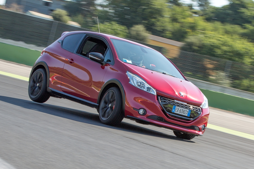 Peugeot 208 GTi 30th, Vallelunga