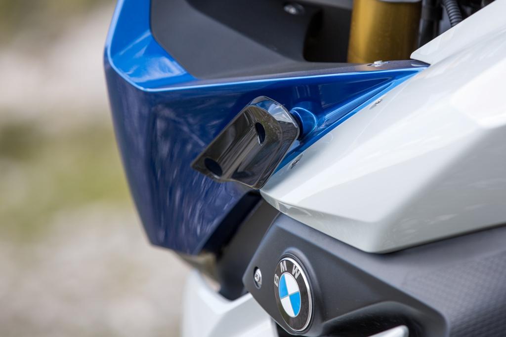 BMW: Le wingles della R1200RS