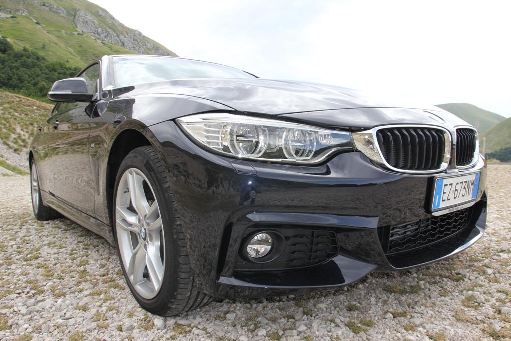 BMW Serie 4d Gran Coupè, moltisima attenzione all'aerodinamica vettura