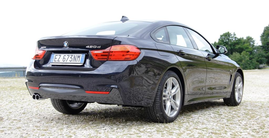 BMW Serie 4d Gran Coupè, carreggiata larga per la sportiva elegante di Casa BMW