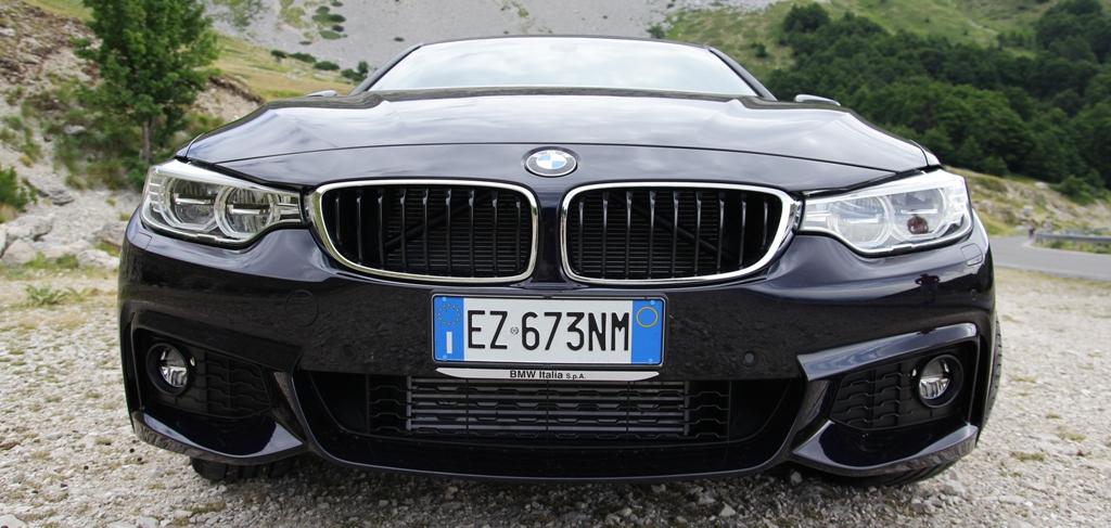 BMW Serie 4d Gran Coupè, frontale minaccioso per la sport tourer tedesca 4 porte