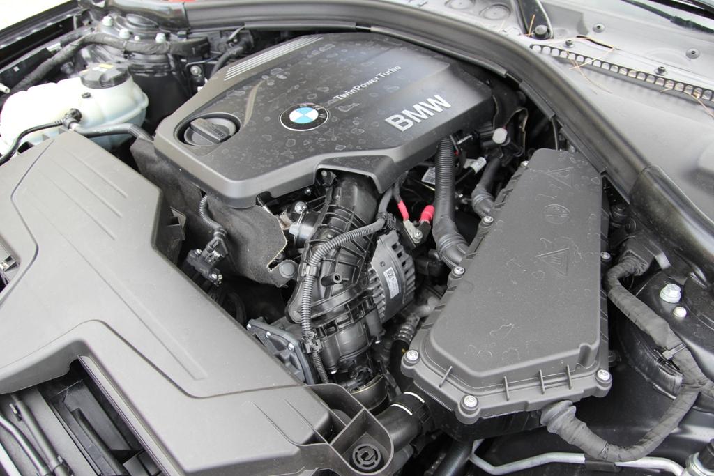 BMW Serie 4d Gran Coupè. il propulsore da 184 Cv