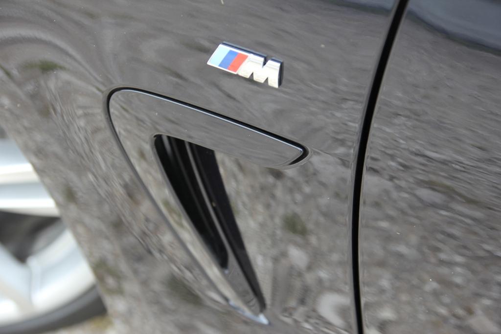BMW Serie 4d Gran Coupè, pacchetto M Sport per la vettura del test