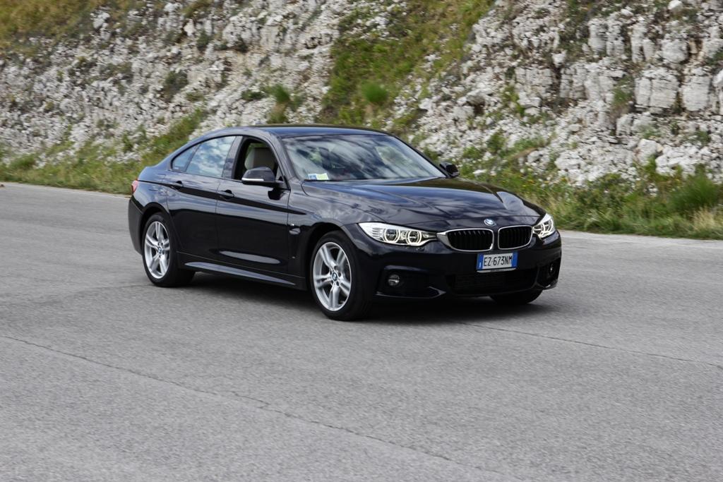 BMW Serie 4d Gran Couoè XDrive, motore fluido con tanta coppia