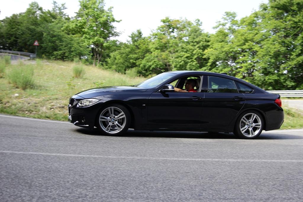 BMW Serie 4d Gran Coupè, sempre dinamica e precisa con l'integrale XDrive