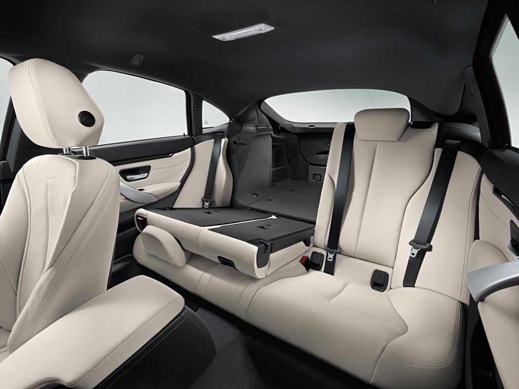 BMW Serie 4d Gran Coupè, abitacolo sportivo ed elegante