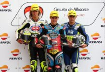 Junior Team VR46, podio Albacete