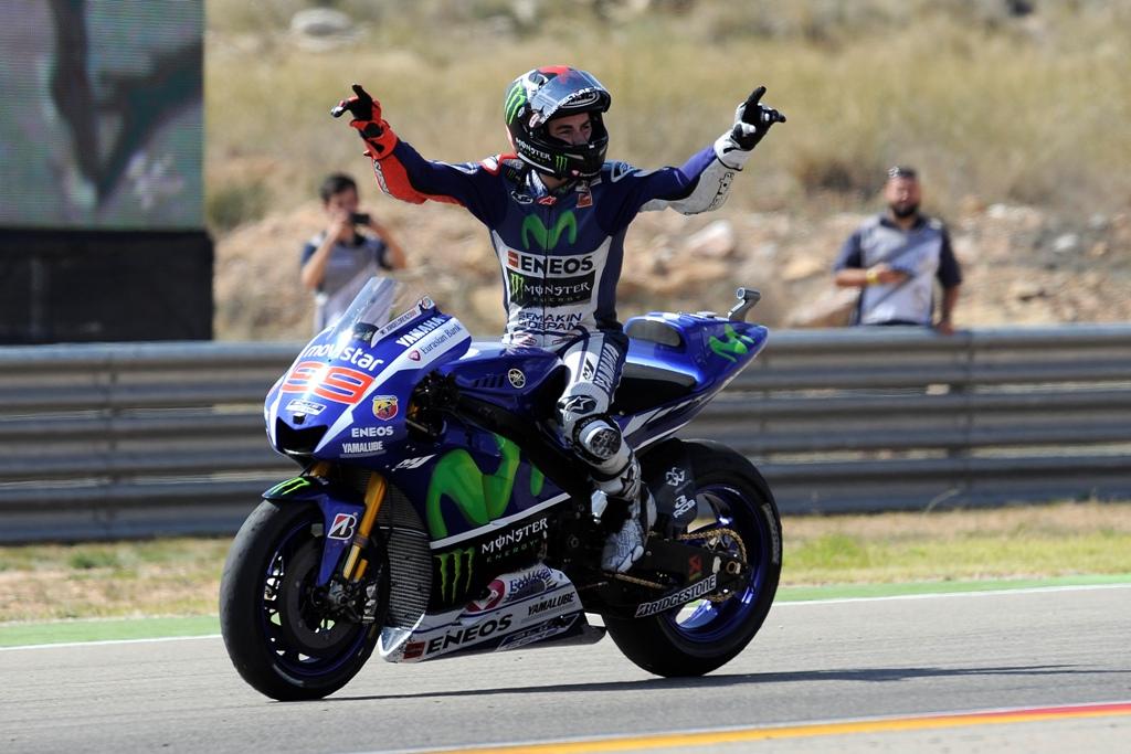 Aragon MotoGP 2015, Jorge Lorenzo ha vinto dominando la gara