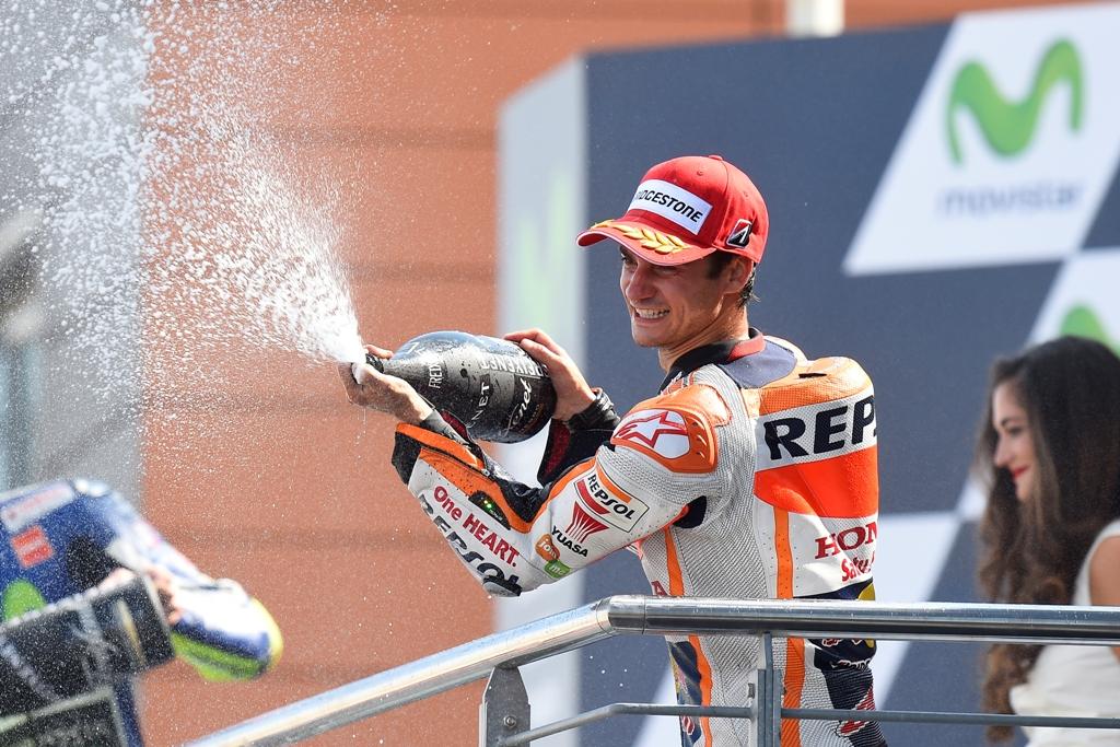 MotoGP aragon 2015. Dani Pedrosa, meritato secondo posto